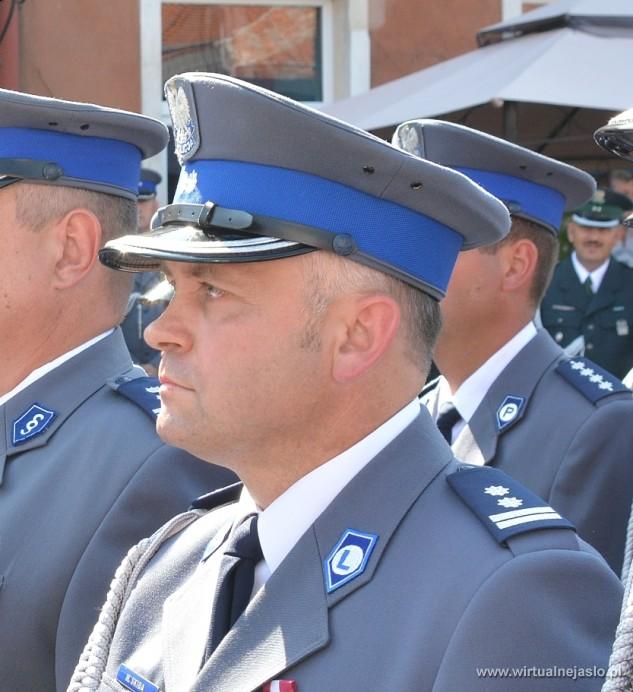 Mariusz Skiba - zastępca komendanta Powiatowego Policji w Brzozowie - 97_1424926108