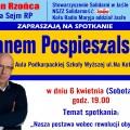 Spotkanie z Janem Pospieszalskim